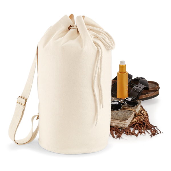 Organic Sea Bag  Seesack Rucksack - natural