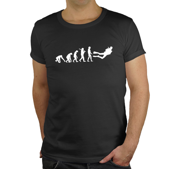 Taucher Regular Rundhals Evolution Herren T-Shirt BC150